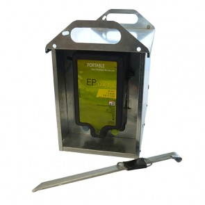 ELECTRIFICATEUR PORTABLE AVEC BOX GALVA