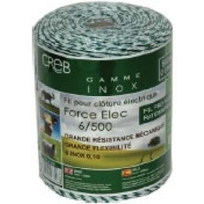 FORT ELEC VERT/BLANC Inox 6I 0,15 et 18