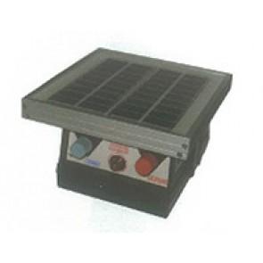 Electrificateur SOLAIRE pour jardin jusqu'à 3km - 140mJ + Batterie 9V + Capteur solaire 2W
