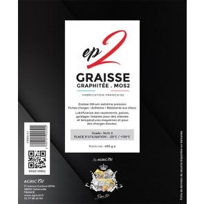 Une cartouche GRAISSE ep2 multi usages 400G