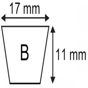 COURROIE B.17x11x1580