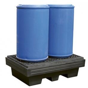 Bac de rétention 220 Litres - 100% polyéthylène