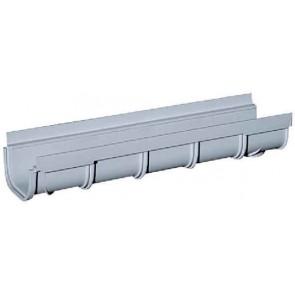 CANIVEAU A GRILLE PVC DE 500 MM LARG:130