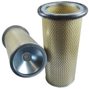 Filtre à air sécurité pour moissonneuse-batteuse CASE 1688 moteurCUMMINS     6 T 830