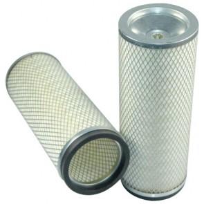 Filtre à air sécurité pour moissonneuse-batteuse CHALLENGER 660 B moteurAGCO CITIUS     84 CTA