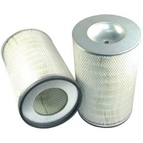 Filtre à air primaire pour moissonneuse-batteuse CLAAS LEXION 440 moteurMERCEDES 01.96->12.01  300 CH  OM 401 LA