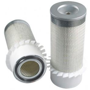 Filtre à air primaire pour tractopelle JCB 3 C moteur PERKINS 298604->310999 LJ 50117
