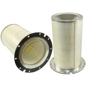 Filtre à air sécurité pour tracteur chenille CATERPILLAR D 9 R moteur CATERPILLAR