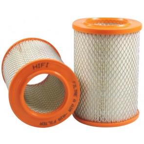 Filtre à air pour tondeuse ISEKI SF 310 moteur ISEKI E3CDVG03