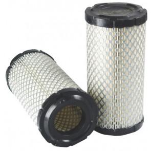 Filtre à air primaire pour tractopelle CASE-POCLAIN 580 SR-2 moteur CNH 2005-> 445/TM