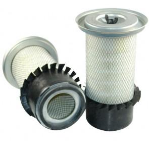 Filtre à air primaire pour tractopelle JCB 2 CX moteur PERKINS ->02.93 650000->656999