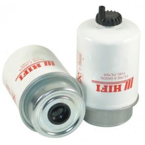 Filtre à gasoil pour tractopelle CATERPILLAR 428 B moteur PERKINS TURBO