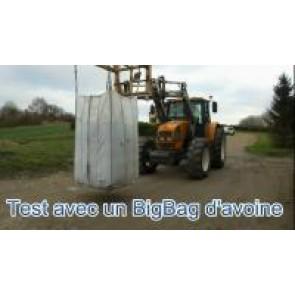 Indicateur de pesée électronique pour tracteur AVEC LOAD SENSING