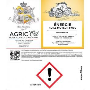 Huile moteur ENERGIE 5W30 60 L