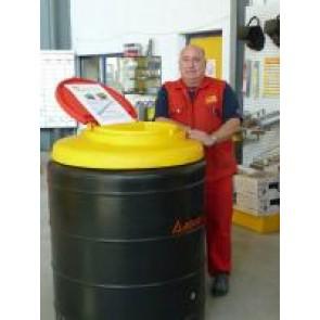 Collecteur d'huile usagées 500L - Poly ethylène double parois