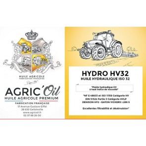 HUILE HYDRAULIQUE HV32 60L
