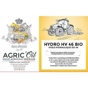 Huile hydraulique HYDRO HV 46 BIO 25L