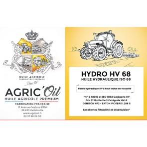 Huile hydraulique HYDRO HV 68 220L