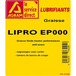 Graisse LIPRO EP000 25Kg
