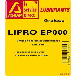 GRAISSE 5KILOS LIPRO EP000