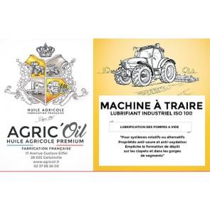 Lubrifiant industriel  ISO 100 pour MACHINE A TRAIRE 220L