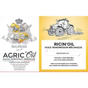 Huile transmission mécanique RICIN'OIL 60L