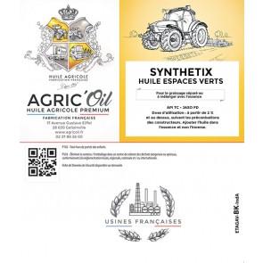 HUILE ESPACES VERTS SYNTHETIX 5L
