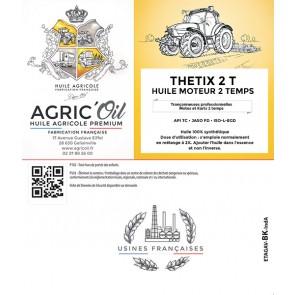 Huile moteur THETIX 2 TEMPS 25L