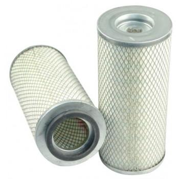Filtre à air primaire pour moissonneuse-batteuse DEUTZ-FAHR M 1300 HYDROMAT moteurDEUTZ     F 6 L 912
