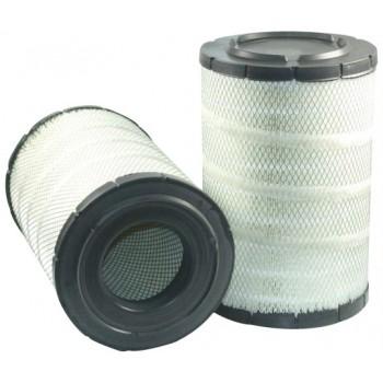 Filtre à air primaire pour moissonneuse-batteuse FENDT 8350 moteurDEUTZ 2002->  350 CH  BF 6 M 1015 C