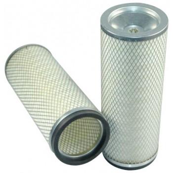 Filtre à air sécurité pour moissonneuse-batteuse MASSEY FERGUSON 30 moteurSISU     620